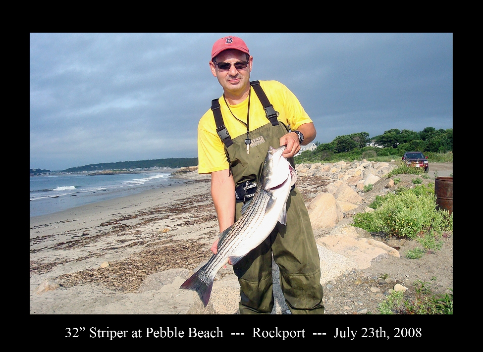 pebble beach striper
