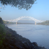 cape cod canal at first light