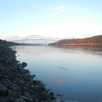 cape cod canal in the fall