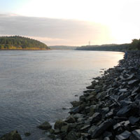 cape cod canal morning