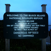 sign at north light